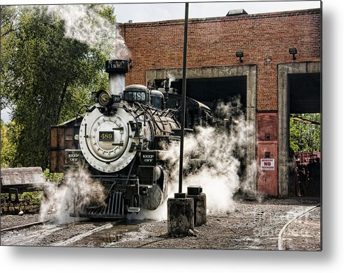 Colorado Metal Print featuring the photograph Chama Steam by Marilyn Cornwell