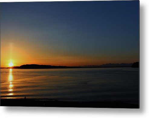Metal Print featuring the photograph Chambers Bay by Ronald Hanson