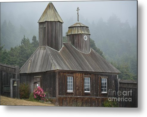 Chapel Metal Print featuring the photograph Chapel by Beth Sanders