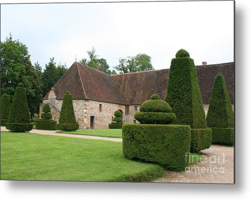 Stable Metal Print featuring the photograph Chateau De Cormatin Stable by Christiane Schulze Art And Photography