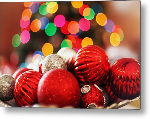 Christmas Metal Print featuring the photograph Cheers by Andrew Rossman