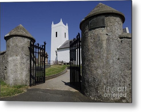 Ballintoy Metal Print featuring the photograph Church If Ireland by John Shaw