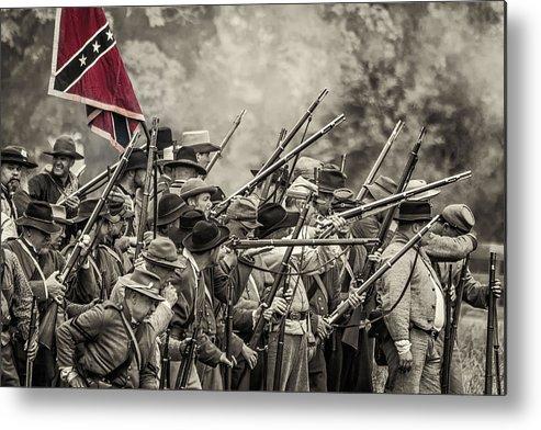 Civil War Metal Print featuring the photograph Civil War South by David Banks