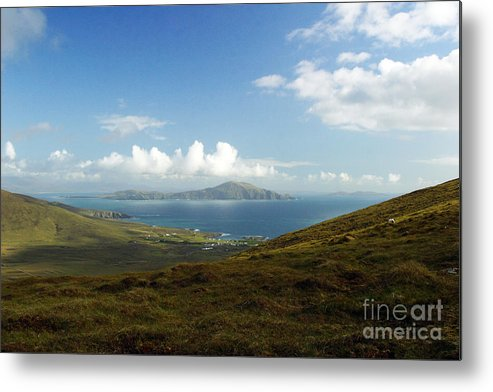 Clare Metal Print featuring the photograph Clare Island Connemara Ireland by Butch Lombardi