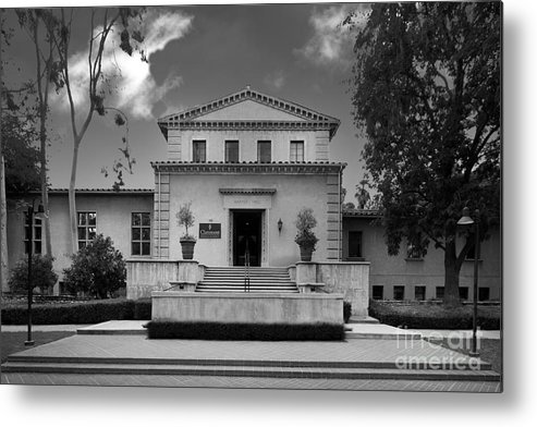 Cgu Metal Print featuring the photograph Claremont Graduate University Harper Hall by University Icons