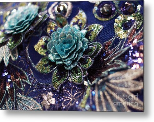 Tulle Metal Print featuring the photograph Classically Costumed Xvii by Cassandra Buckley