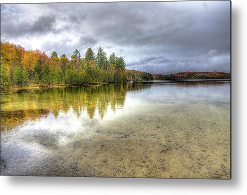 Lake Metal Print featuring the photograph Clear Lake by Ciaran Gearty