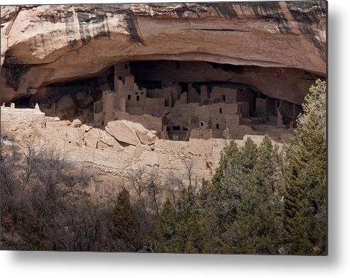 Mesa Metal Print featuring the photograph Cliff Palace by Claus Siebenhaar