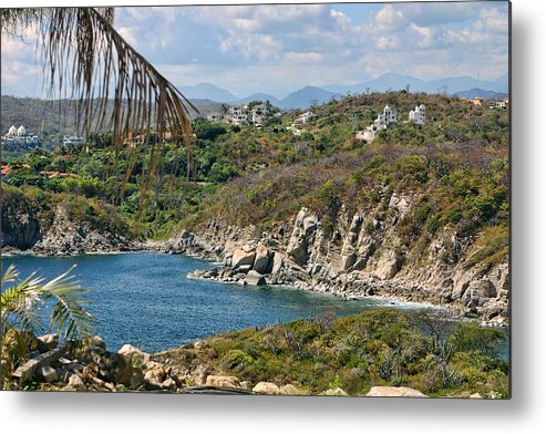 Travel Metal Print featuring the photograph Coast Of Gulf Of Mexico by Linda Phelps