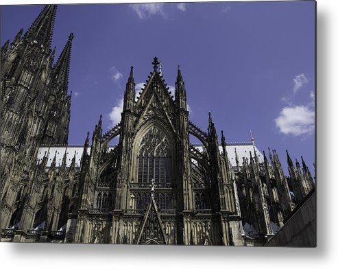 2014 Metal Print featuring the photograph Cologne Cathedral 03 by Teresa Mucha