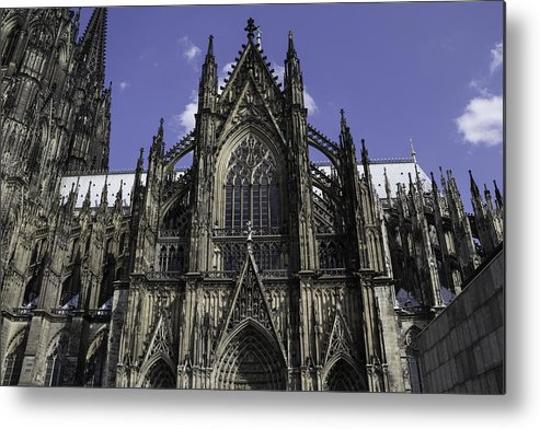 2014 Metal Print featuring the photograph Cologne Cathedral 04 by Teresa Mucha