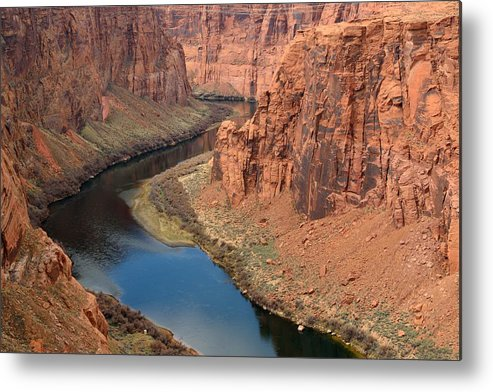Scenics Metal Print featuring the photograph Colorado River Arizona by R9 ronaldo