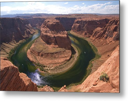 Toughness Metal Print featuring the photograph Colorado River, Horseshoe Bend by John Elk