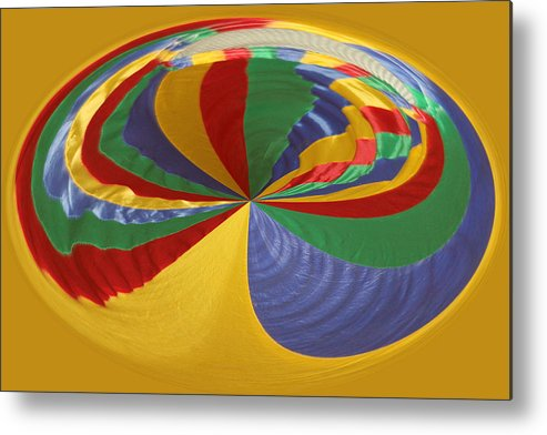 Orb Metal Print featuring the photograph Colors Of Motion by Cynthia Guinn