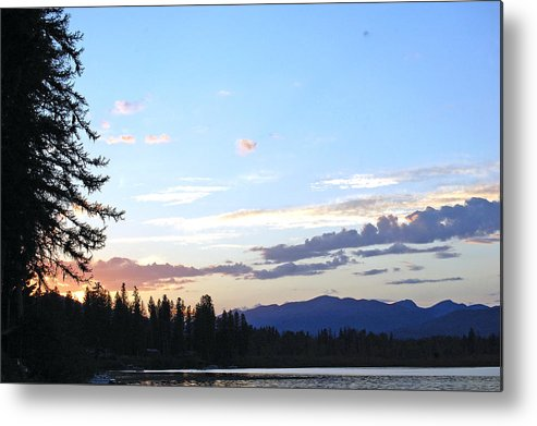 Sky Metal Print featuring the photograph Colors Of The Sky by Christina Jo Horton