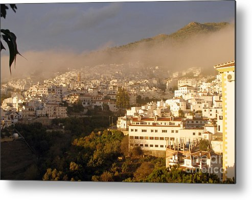 Spain Metal Print featuring the photograph Competa After Rainfall by Rod Jones