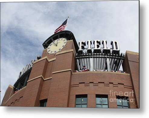 Coors Metal Print featuring the photograph Coors Field 1 by Chris Thomas