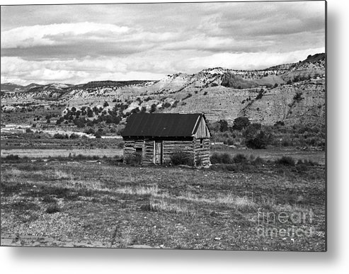 Utah Metal Print featuring the photograph Courage by Kathy McClure