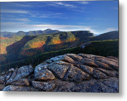 New Hampshire Metal Print featuring the photograph Crawford Early Morning - Looking North by Chris Whiton