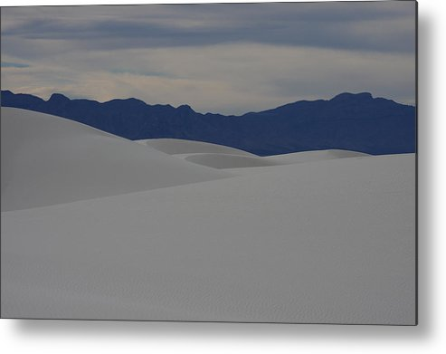White Sands National Monument Metal Print featuring the photograph Cream by JL Griffis
