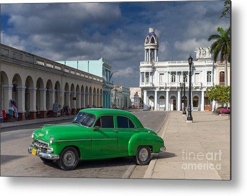 Kuba Metal Print featuring the photograph Cuba Green by Juergen Klust