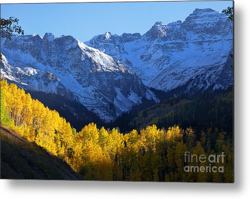 Autumn Colors Metal Print featuring the photograph Curtain Call by Jim Garrison