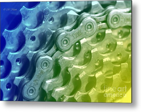 Bike Metal Print featuring the photograph Bike Cycling Gears by Tap On Photo