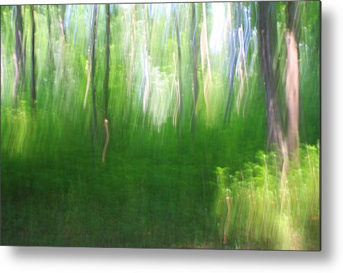 Photography Metal Print featuring the photograph Dancing Sunbeams by Angela Bruno