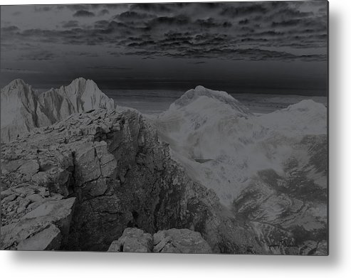 Landscapes Metal Print featuring the photograph Dark Planet by Jeremy Rhoades