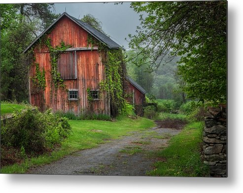 Bucolic Metal Print featuring the photograph Days Gone By by Bill Wakeley