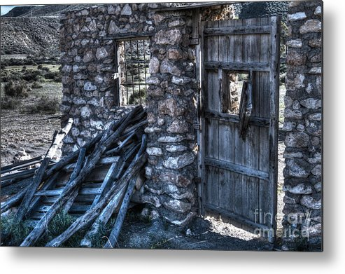 Ruin Metal Print featuring the photograph Days Gone By by Heiko Koehrer-Wagner