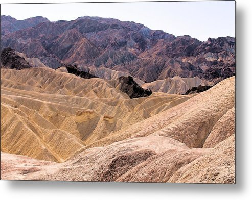 Metal Print featuring the photograph Death Valley # 12 by G Berry