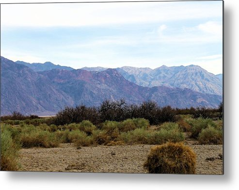 Metal Print featuring the photograph Deathvalley # 4 by G Berry