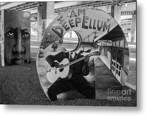 Deep Metal Print featuring the photograph Deep Ellum Dallas Texas Art by Imagery by Charly