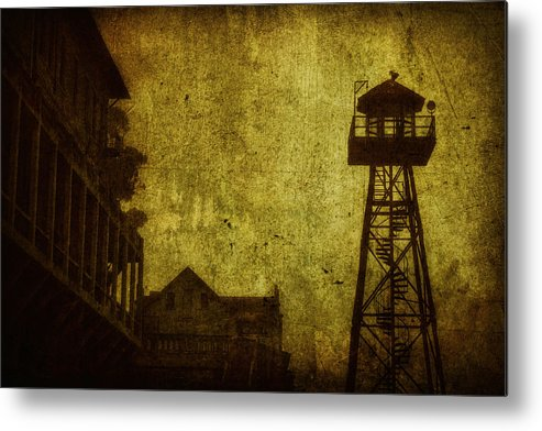 Alcatraz Metal Print featuring the photograph Diminished Dawn by Andrew Paranavitana