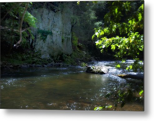 Dowlin Metal Print featuring the photograph Dowlin Forge Park - Brandywine Creek by Bill Cannon