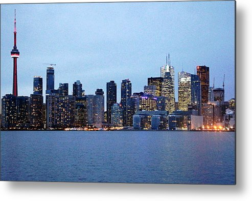 Centre Island Metal Print featuring the photograph Downtown Toronto by Munir Alawi