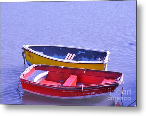 Fishing Boats Metal Print featuring the photograph Dream Catcher 2 by Heather Watson