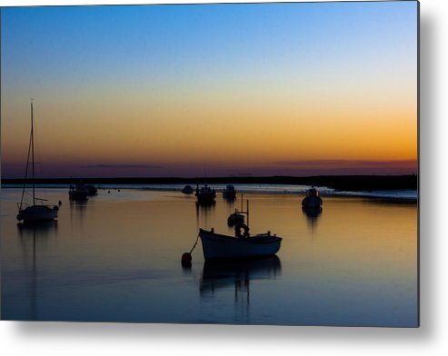 Matthew Metal Print featuring the photograph Dusky Tranquility by Matthew Bruce