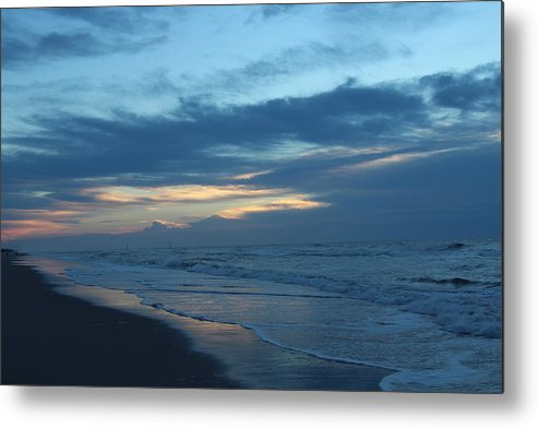 Topsail Metal Print featuring the photograph Early Light #1 by Rand Wall