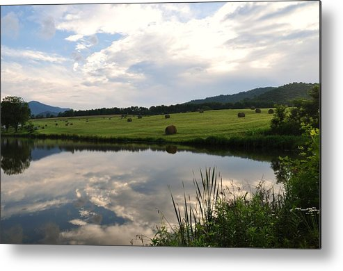 Pond Metal Print featuring the photograph Early Morning On The Pond 3 by Sherri Quick