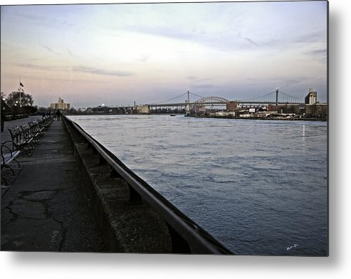 East River Metal Print featuring the photograph East River Vista 1 - Nyc by Madeline Ellis