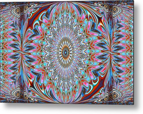 Kaleidoscopes Metal Print featuring the photograph Easy Street by G Berry