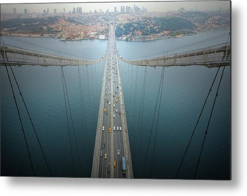 Bridge Metal Print featuring the photograph Ethereal Highways by Dr. Akira Takaue