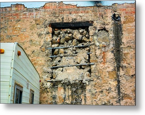Evanston Metal Print featuring the photograph Evanston Wyoming - 1 by Ely Arsha