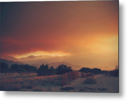 Palm Desert Metal Print featuring the photograph Even Now by Laurie Search