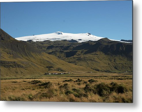 Landscape Metal Print featuring the photograph Eyjafjallajokull by Rune Valtersson