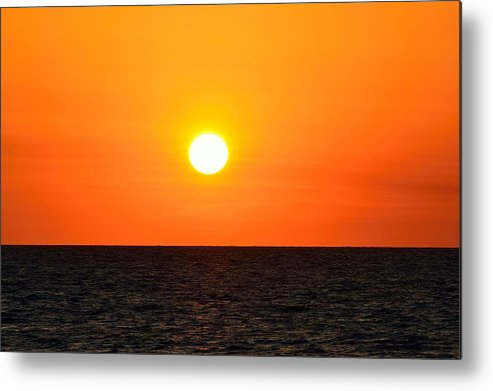 Florida Metal Print featuring the photograph Fantastic Sunset by Richard Zentner