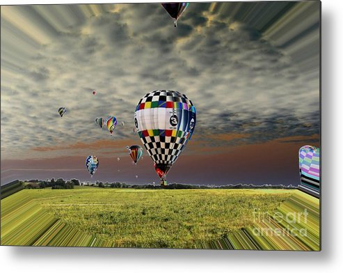 Balloons Metal Print featuring the photograph Fantastic Voyage by Rick Rauzi
