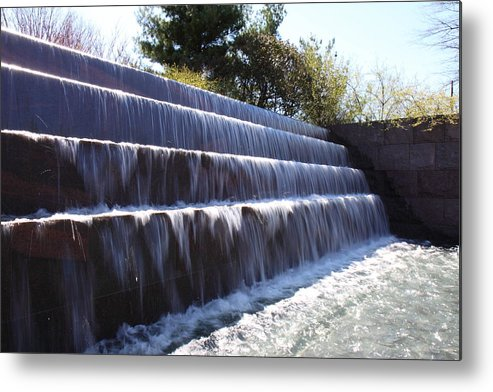 America Metal Print featuring the photograph Fdr Memorial - Washington Dc - 01132 by DC Photographer